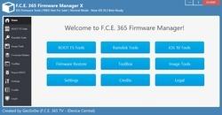 FCE 365 Firmware Manager Screenshot