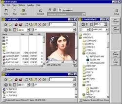 FileWrangler Screenshot