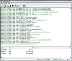 FileZilla Server Screenshot