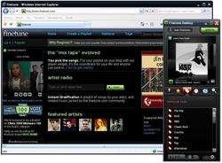 Finetune Desktop Screenshot