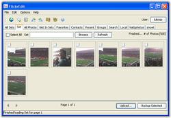 FlickrEdit Screenshot