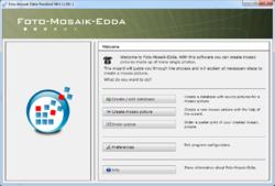 Foto Mosaik Edda Screenshot