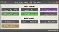 Free Audio Video Pack Screenshot