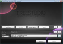 Free AVI Video Converter Screenshot