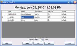 free Calendar Screenshot