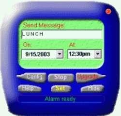 Free Cellular Alarm Clock Screenshot