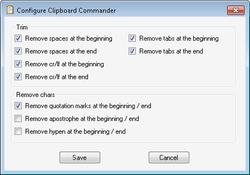 Free Clipboard Manager Screenshot