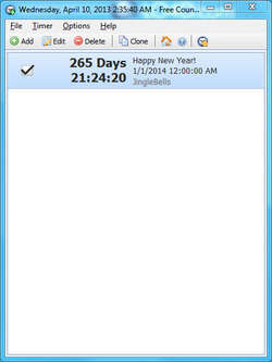 Free Countdown Timer - Download