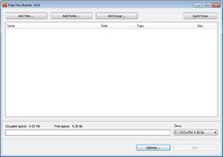 Free Disc Burner Screenshot