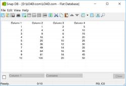 Free Flat Database Editor Screenshot