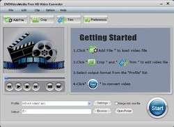 Free HD Video Converter Screenshot