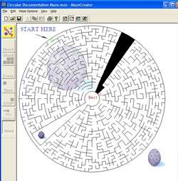 Free Maze Creator Screenshot