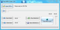 Free MP3 Cutter Screenshot