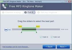 Free MP3 Ringtone Maker Screenshot