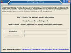 Free Registry Defrag Screenshot