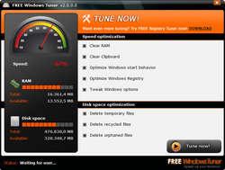Free Windows Tuner Screenshot
