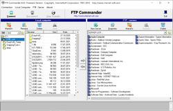 FTP Commander Screenshot