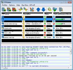 FTPGetter Screenshot