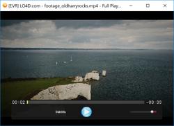 Full Player Screenshot