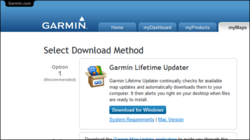 Garmin Lifetime Updater Screenshot
