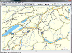 Garmin MapSource Screenshot