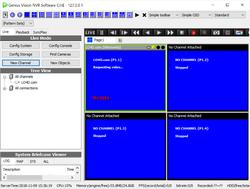 Genius Vision NVR Software CmE Screenshot