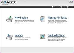 GFI Backup Screenshot