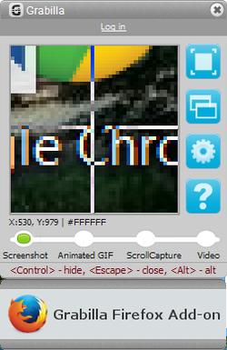Grabilla Screenshot
