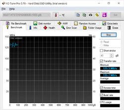 HD Tune Screenshot