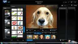 HP MediaSmart Webcam Screenshot