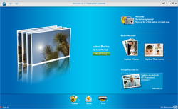 HP Photosmart Essential Screenshot