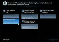 HP Recovery Manager - Download