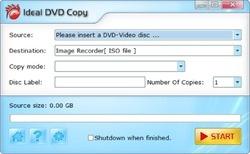 Ideal DVD Copy Screenshot