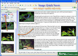 image quick saver Screenshot