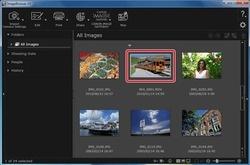 ImageBrowser EX Screenshot