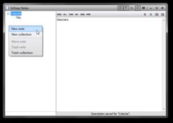 InDeep Notes Screenshot