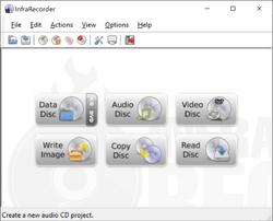 InfraRecorder Screenshot