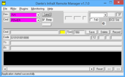 Infrared Remote Manager Screenshot