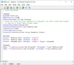 Inno Setup Screenshot