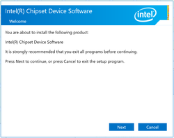 Intel Chipset Device Software 9 Screenshot