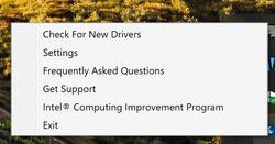 Intel Driver Support Assistant Screenshot