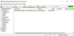 Internet Download Accelerator Screenshot
