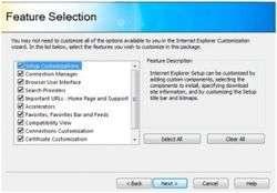 Internet Explorer Administration Kit 9 Screenshot