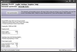 iPod2PC Screenshot
