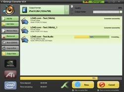 IQmango Audio Converter Screenshot