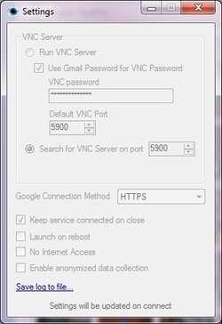 iTeleport Connect Screenshot