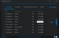 JetBoost Screenshot
