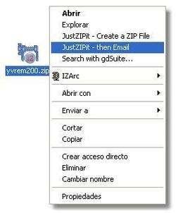 JustZIPit Screenshot