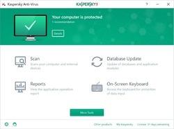 Kaspersky Anti-Virus Screenshot