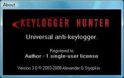 Keylogger Hunter Screenshot